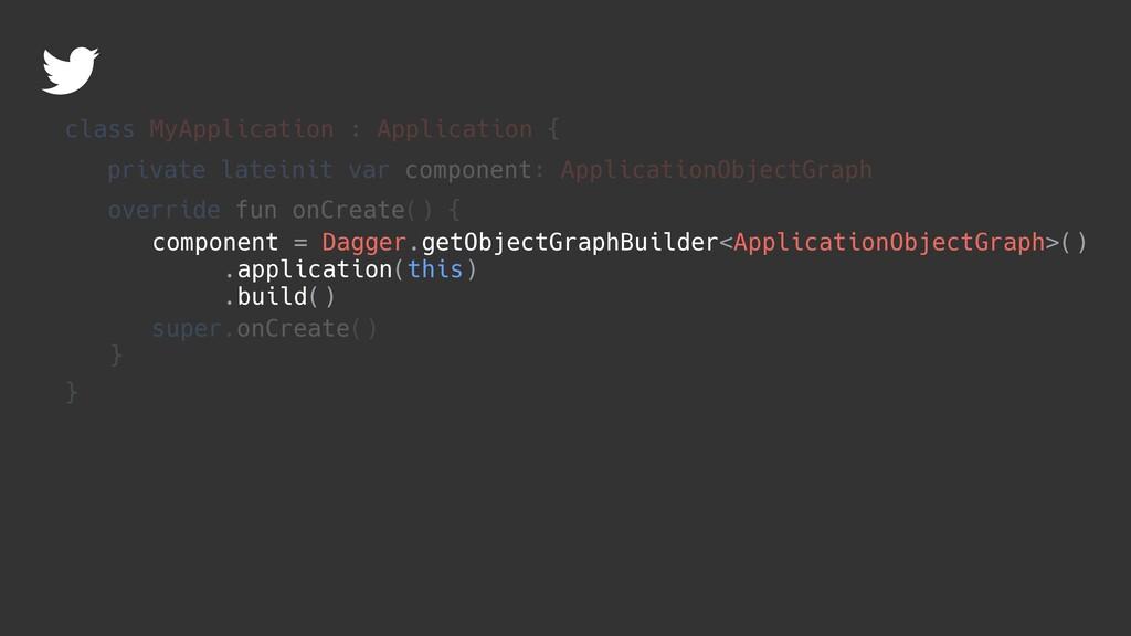 component = Dagger.getObjectGraphBuilder<Applic...