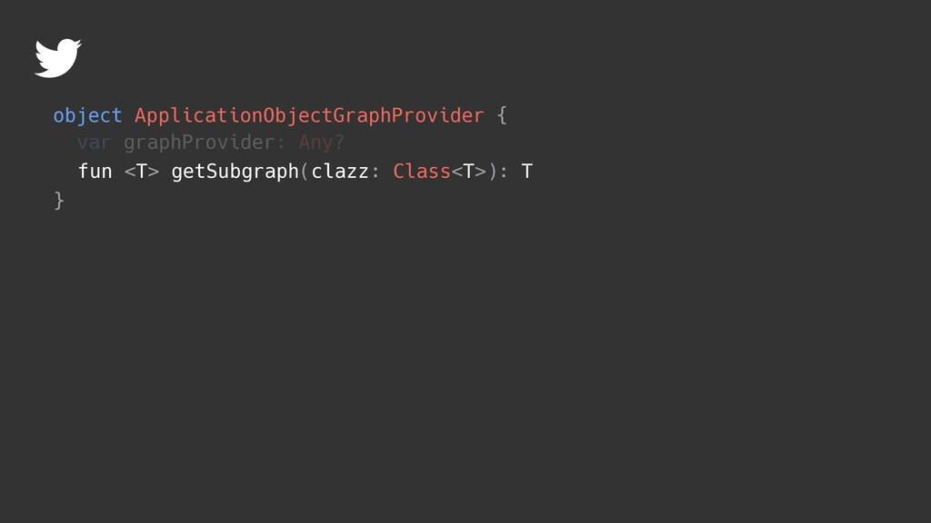 object ApplicationObjectGraphProvider { } fun <...
