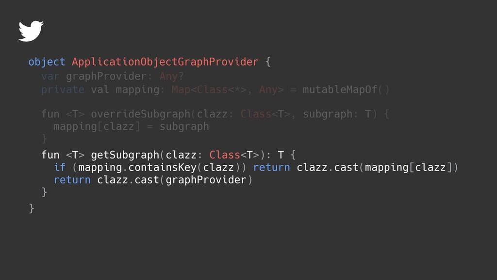 object ApplicationObjectGraphProvider { } var g...