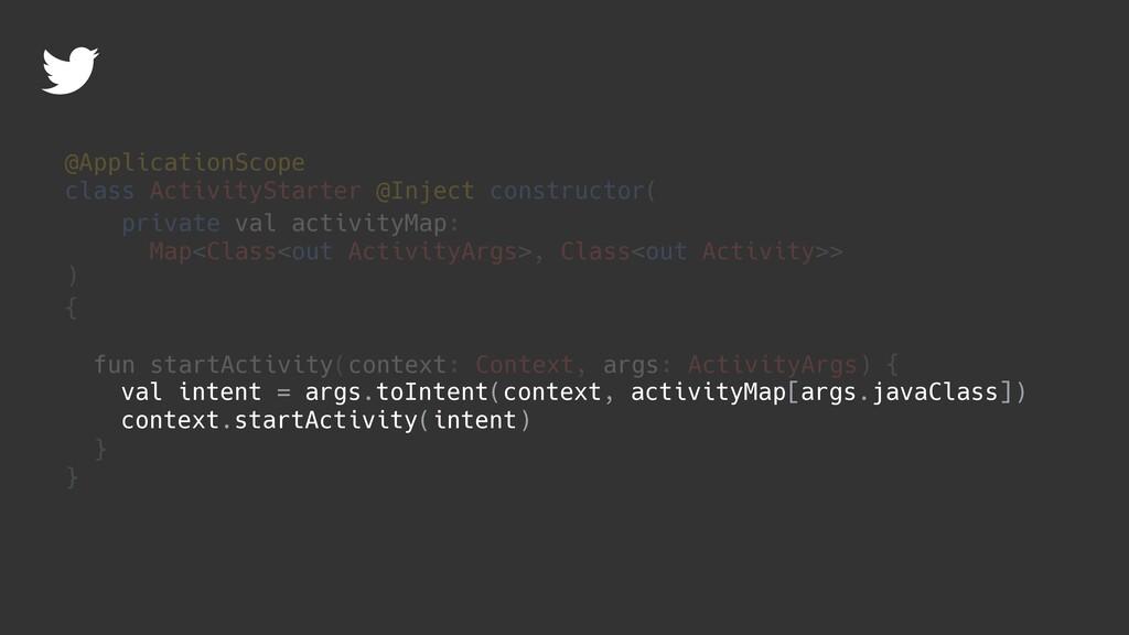 { fun startActivity(context: Context, args: Act...