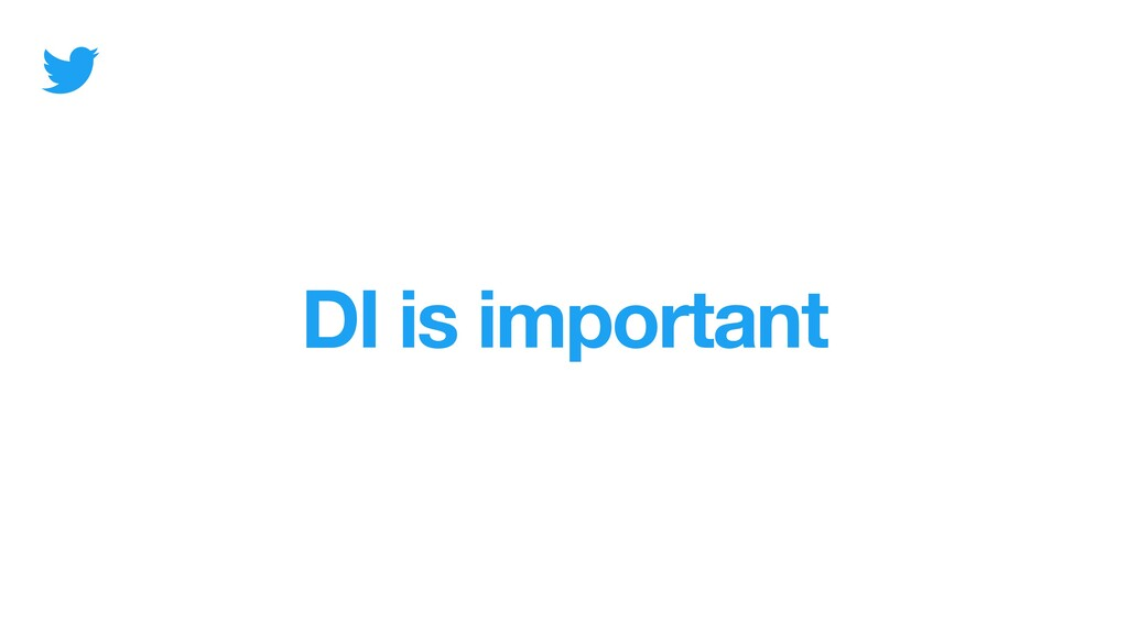 DI is important