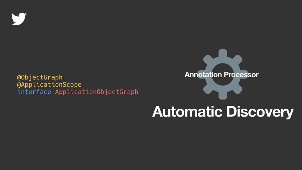 @ObjectGraph @ApplicationScope interface Applic...