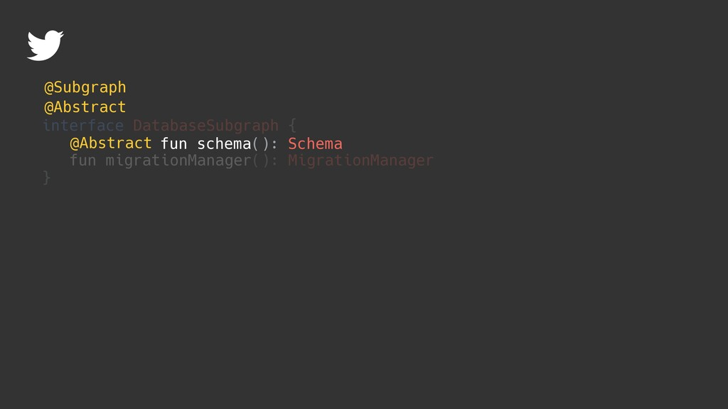 interface DatabaseSubgraph { fun migrationManag...