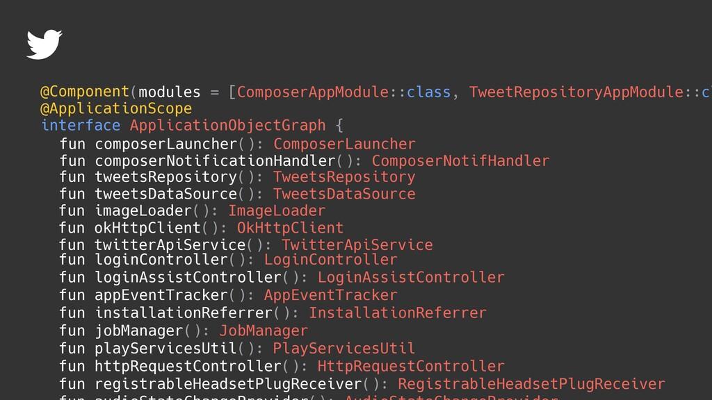 fun okHttpClient(): OkHttpClient fun twitterApi...