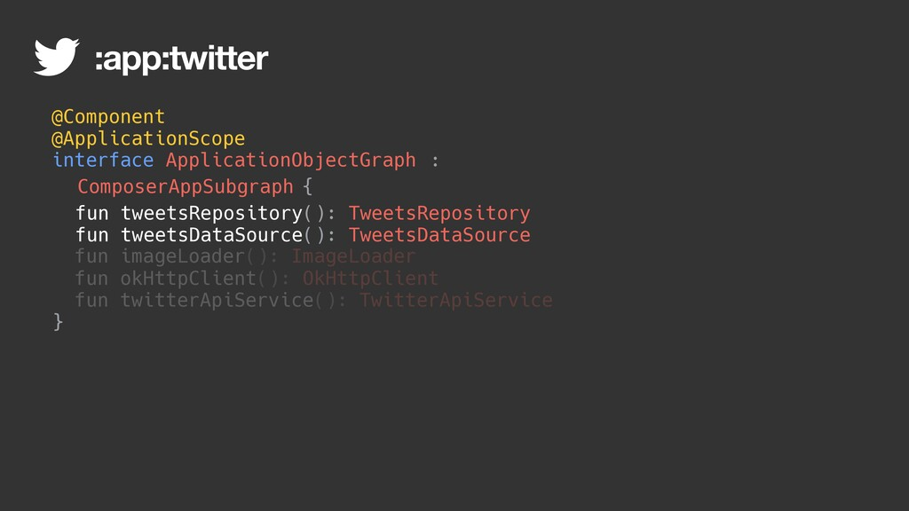 : @Component @ApplicationScope interface Applic...