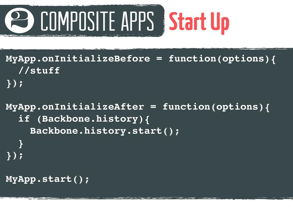 Composite Apps 2 Start Up MyApp.onInitializeBef...