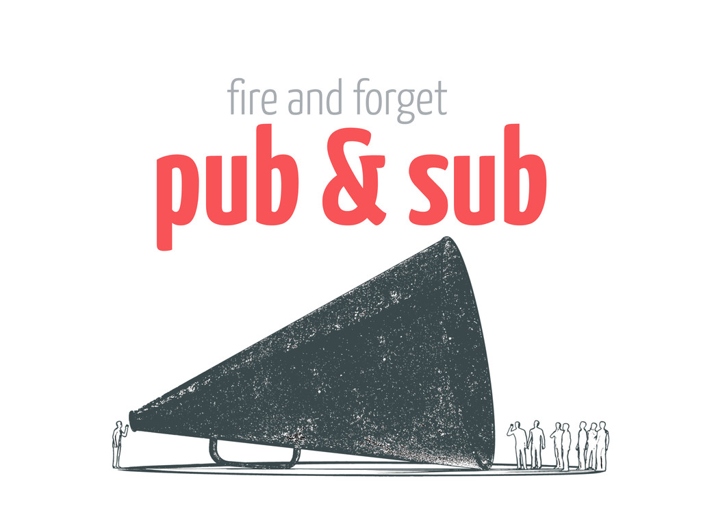 pub & sub fire and forget