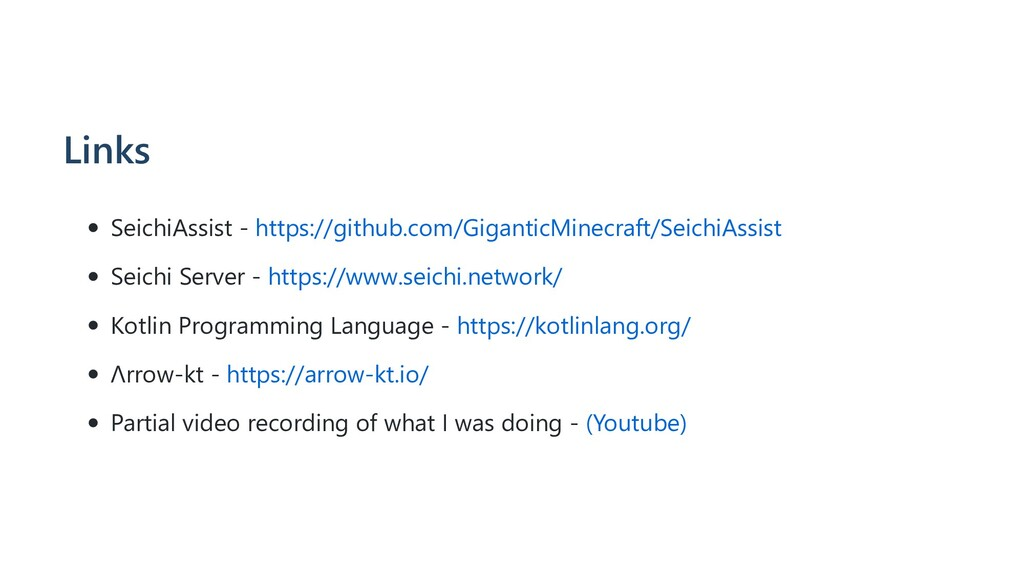 Links SeichiAssist - https://github.com/Giganti...