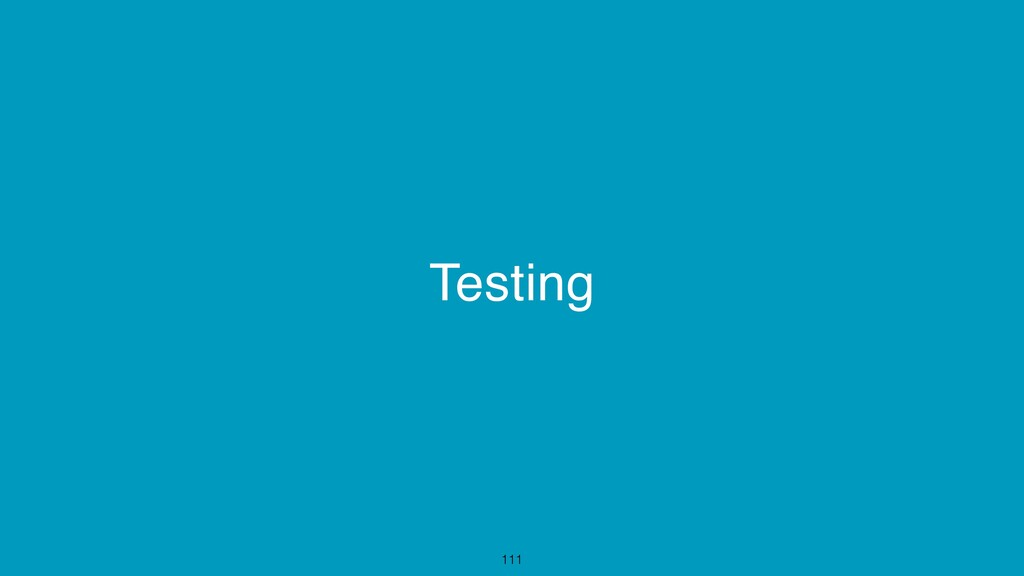 Testing 111