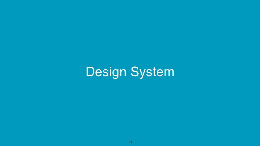 Design System 13
