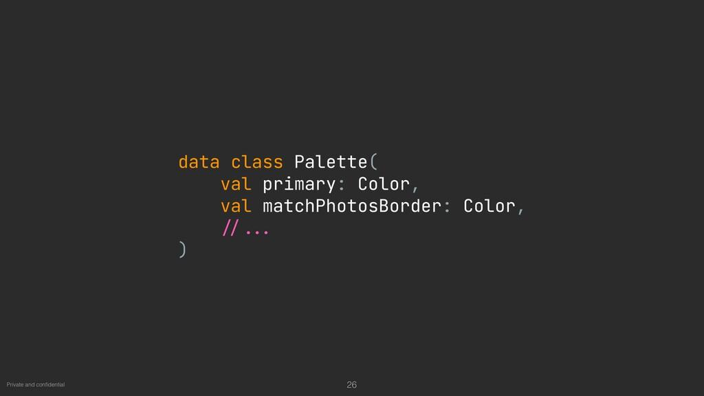 Private and con fi dential 26 data class Palett...
