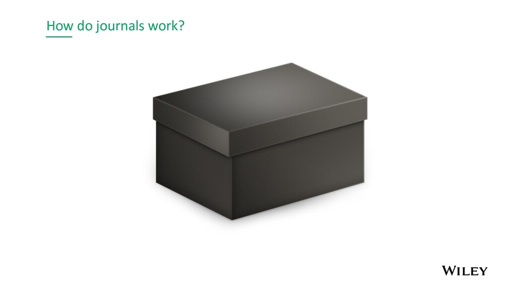 How do journals work?
