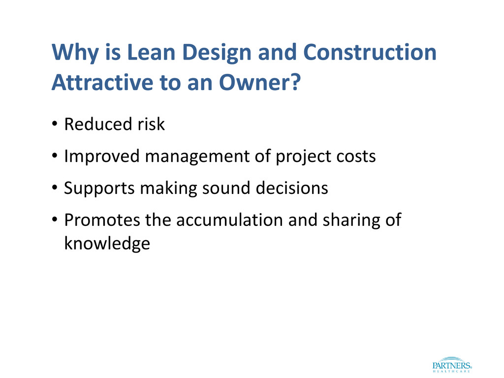 Why is Lean Design and Construction Attractive ...