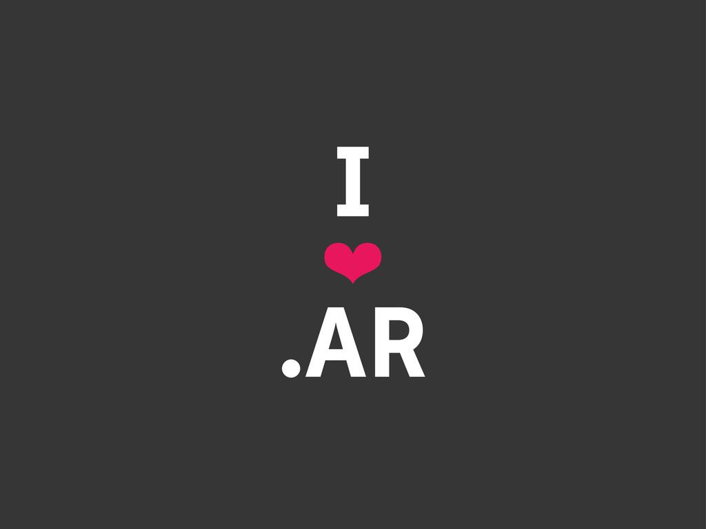 I ❤ .AR