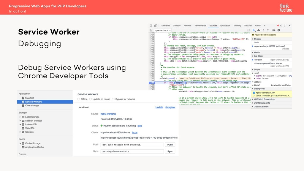 Debugging Debug Service Workers using Chrome De...