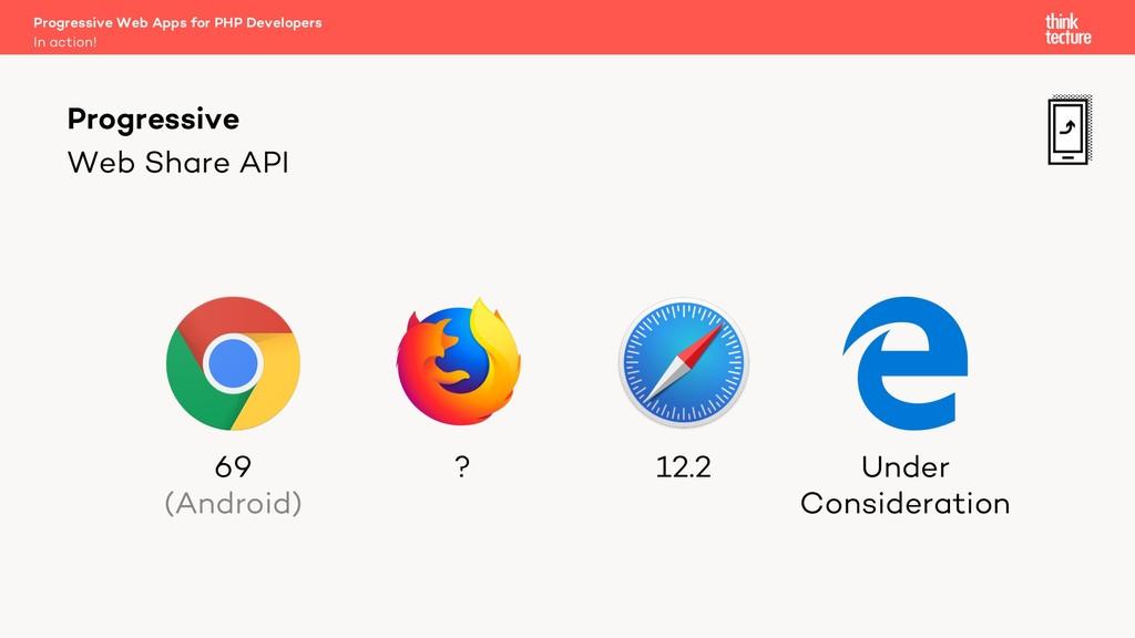 Web Share API Progressive Web Apps for PHP Deve...