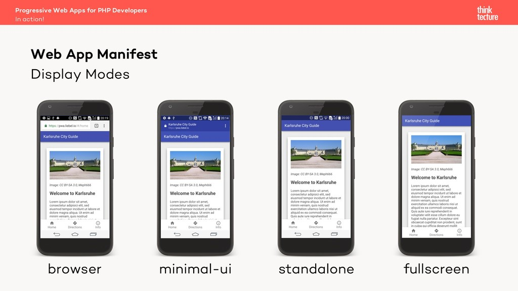 Display Modes Progressive Web Apps for PHP Deve...
