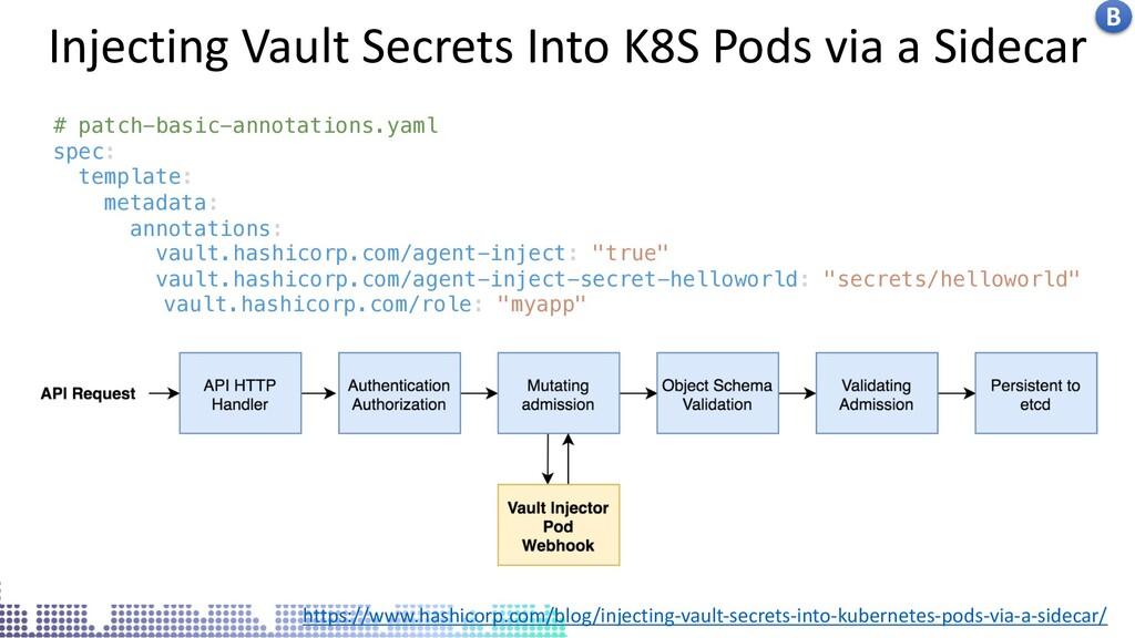 Insecure docker socket service Injecting Vault ...