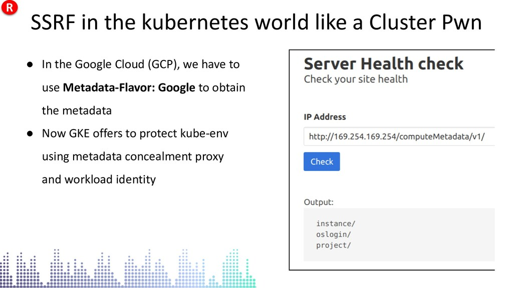 SSRF in the kubernetes world like a Cluster Pwn...
