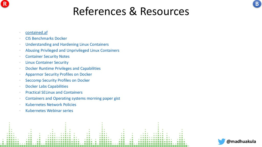 References & Resources • contained.af • CIS Ben...