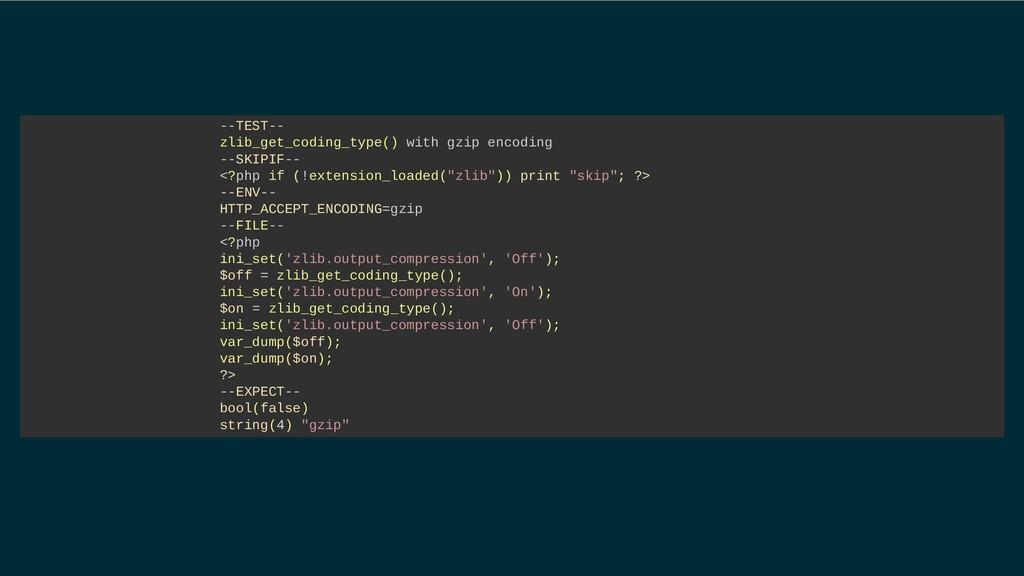 --TEST-- zlib_get_coding_type() with gzip encod...