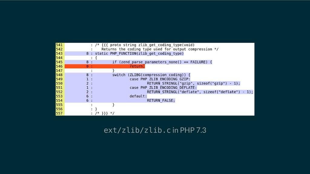 ext/zlib/zlib.c in PHP 7.3