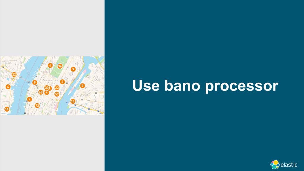 Use bano processor