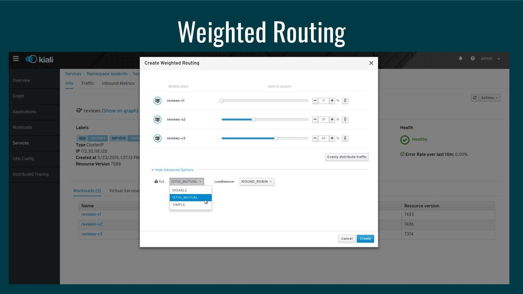 Weighted Routing