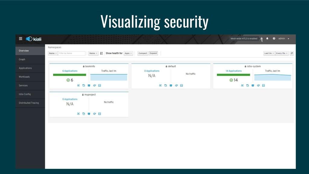 Visualizing security