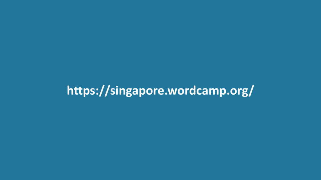 https://singapore.wordcamp.org/