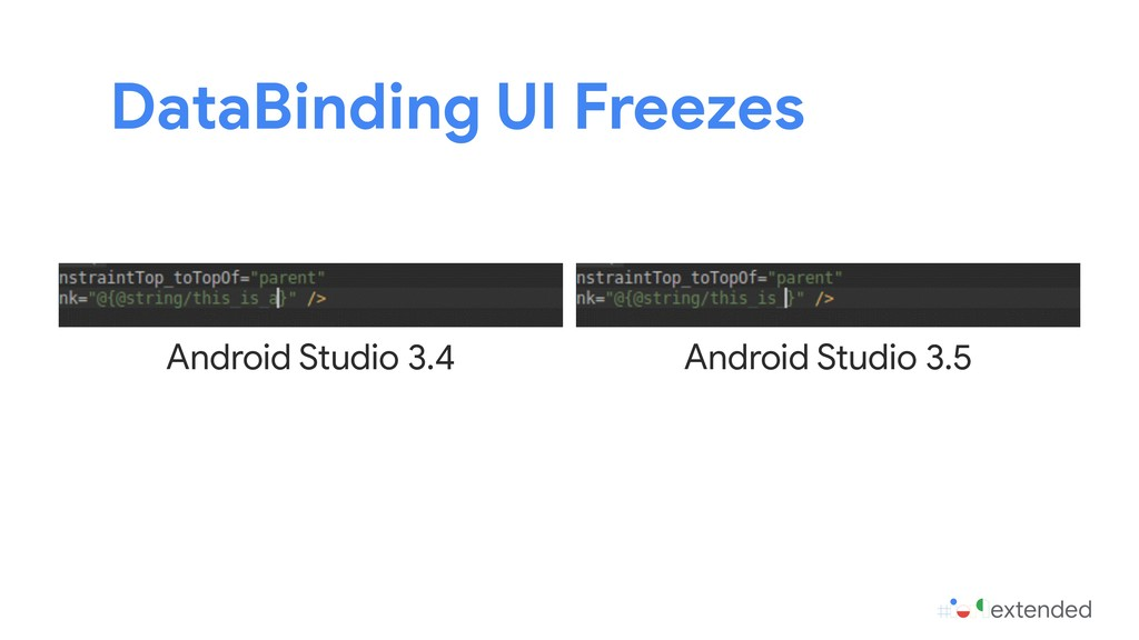 DataBinding UI Freezes Android Studio 3.4 Andro...