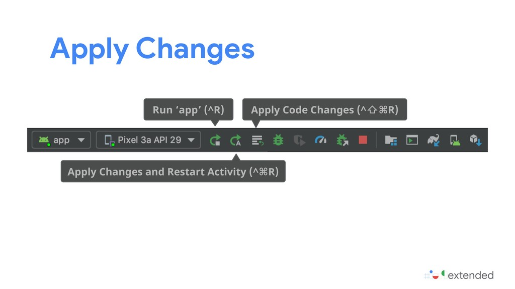 Apply Changes Apply Changes and Restart Activit...
