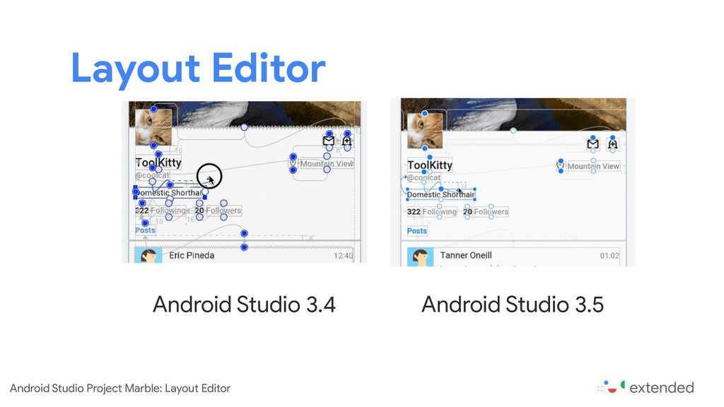 Layout Editor Android Studio 3.4 Android Studio...