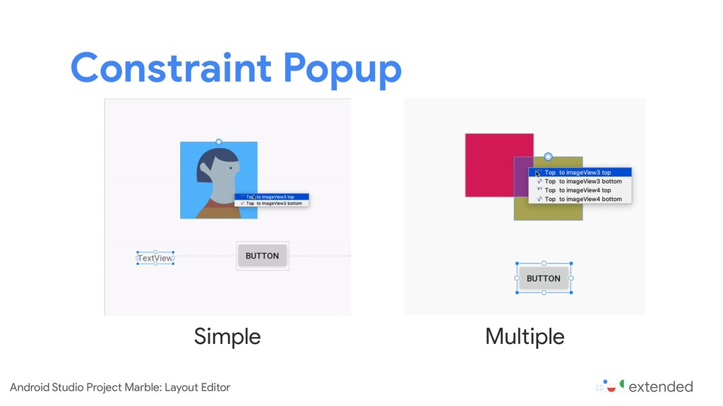 Constraint Popup Simple Multiple Android Studio...