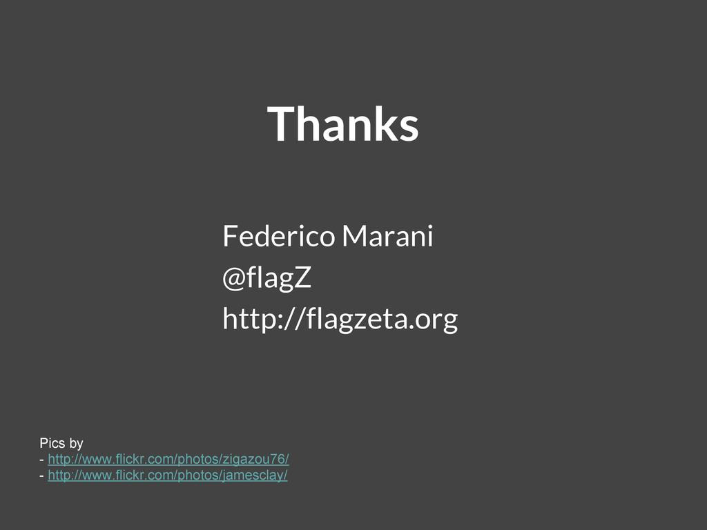 Thanks Federico Marani @flagZ http://flagzeta.o...