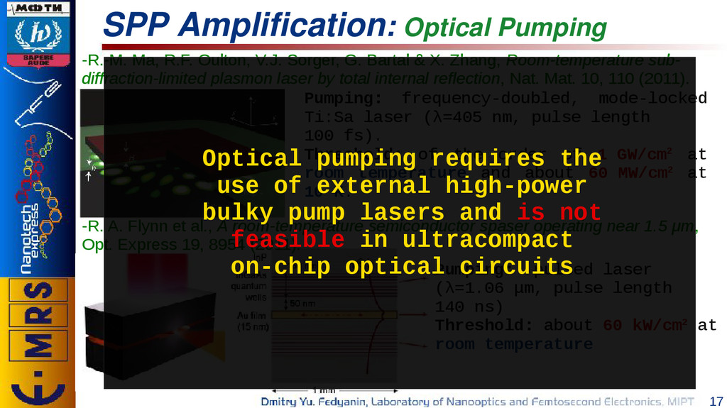 17 SPP Amplification: Optical Pumping -R.-M. Ma...