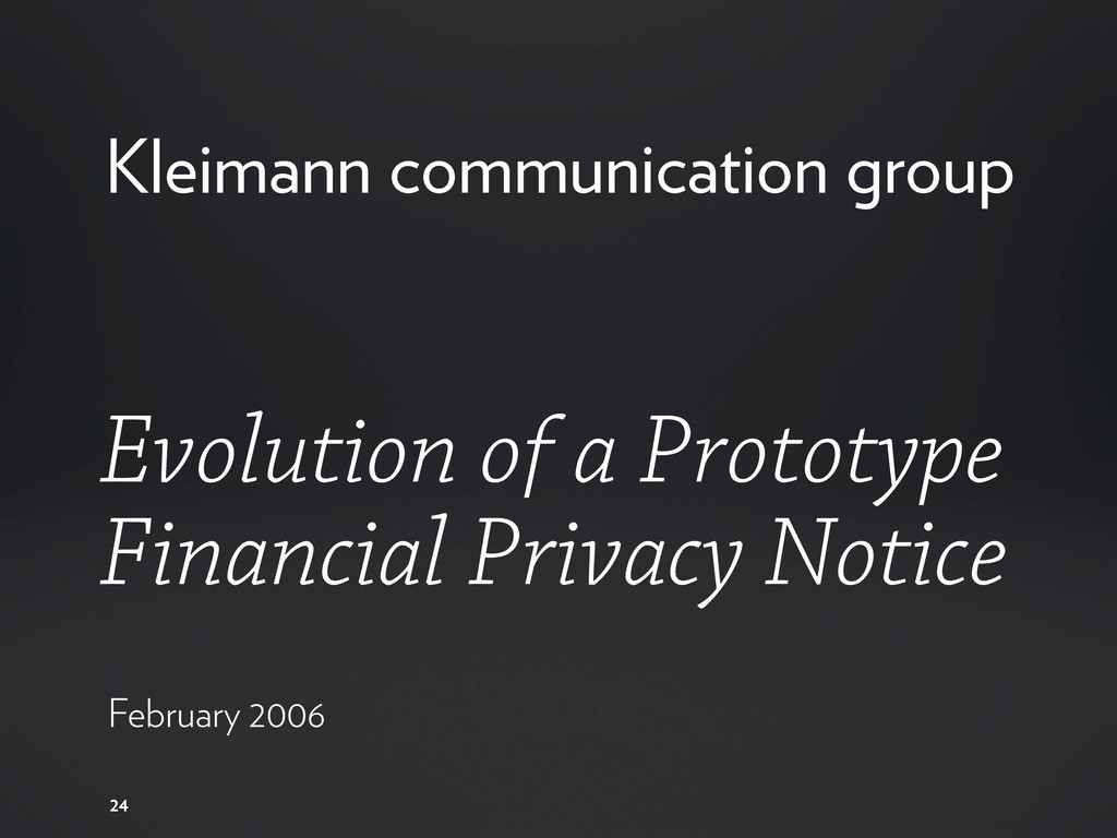 24 Evolution of a Prototype Financial Privacy N...