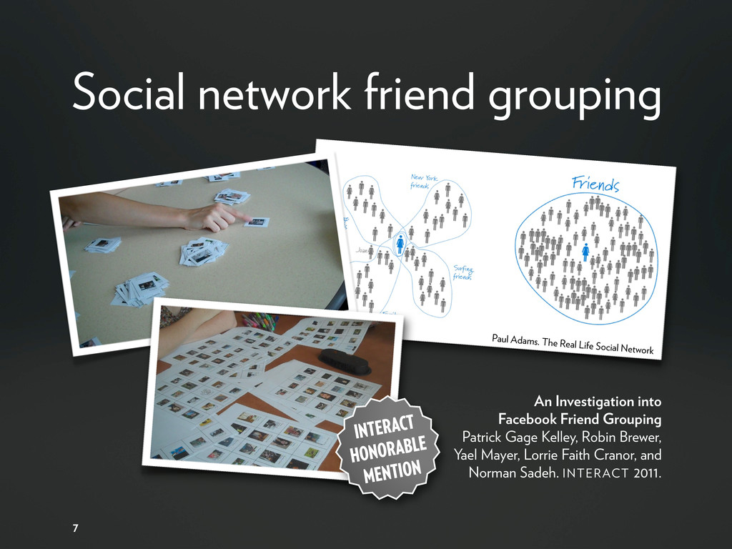 Social network friend grouping An Investigation...