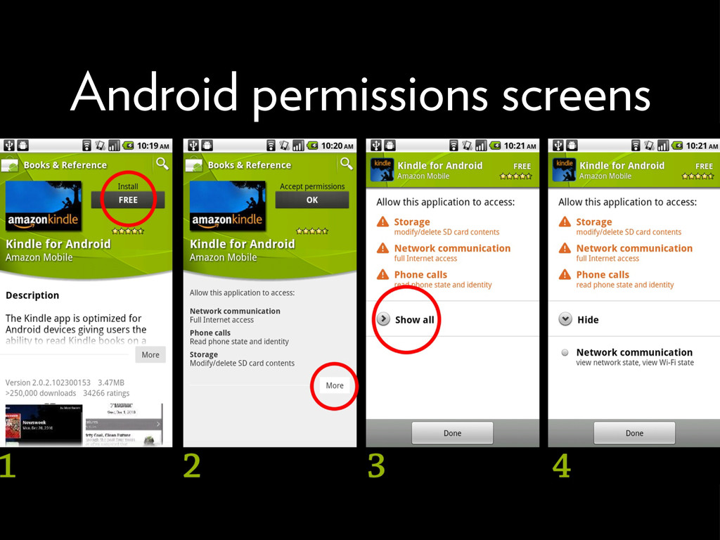 Android permissions screens 71