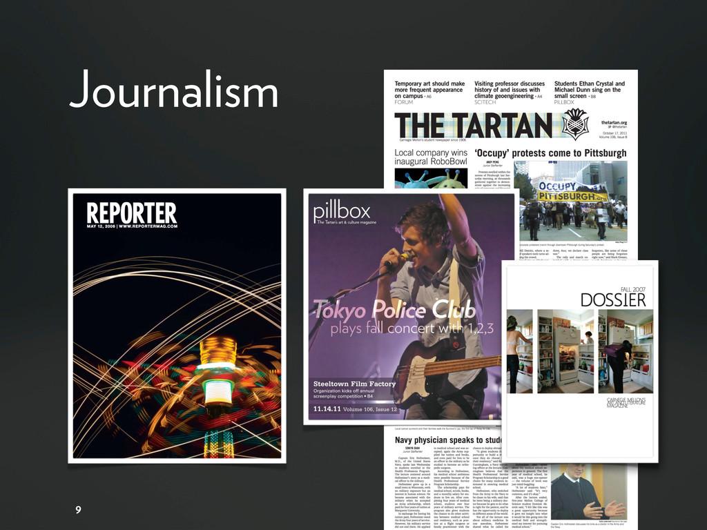 Journalism 9
