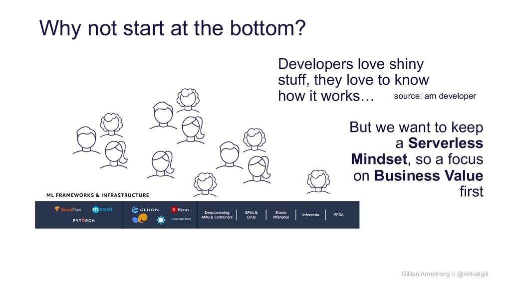 Gillian Armstrong // @virtualgill Why not start...