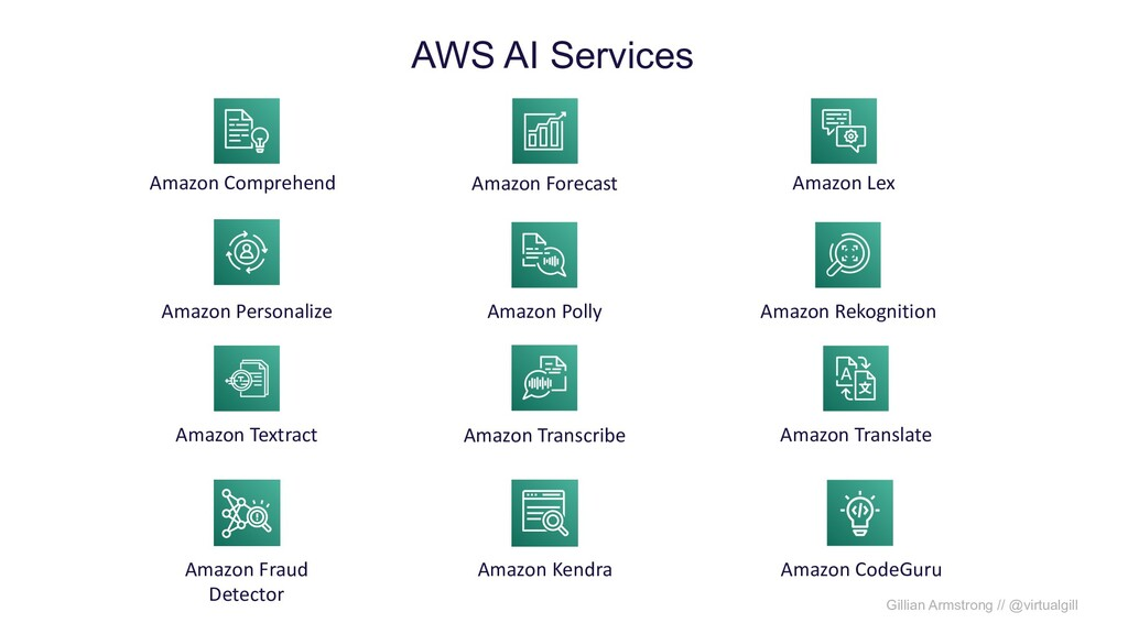 Gillian Armstrong // @virtualgill Amazon Compre...