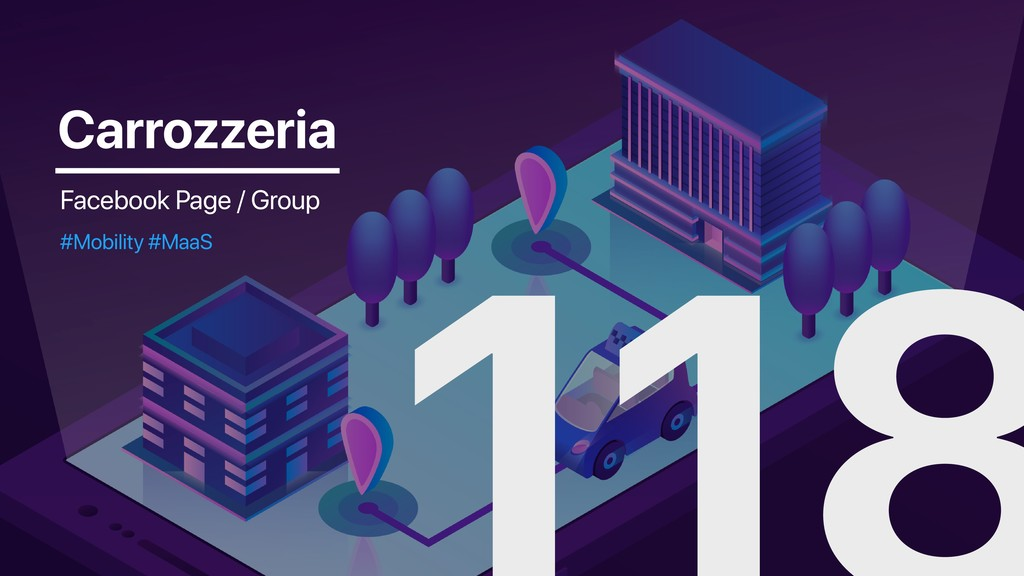 Carrozzeria Facebook Page / Group #Mobility #Ma...