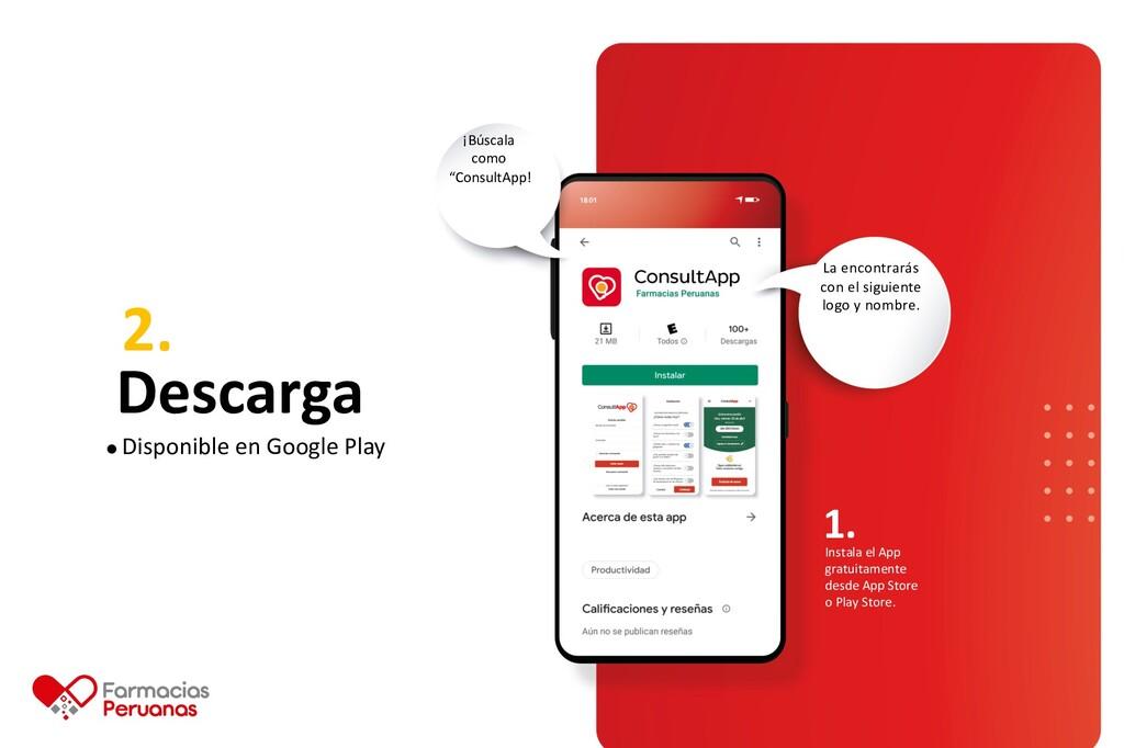 2. Descarga Instala el App gratuitamente desde ...