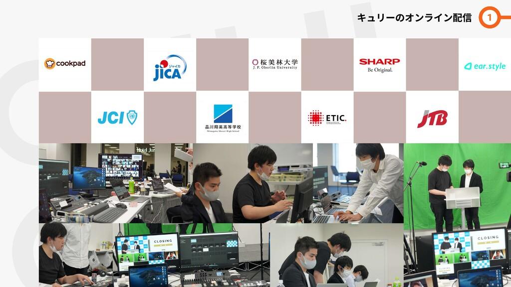 QULII  LINE キュリーのオンライン配信 1 日本中の各地域の青年会議所のセミ ナー等...