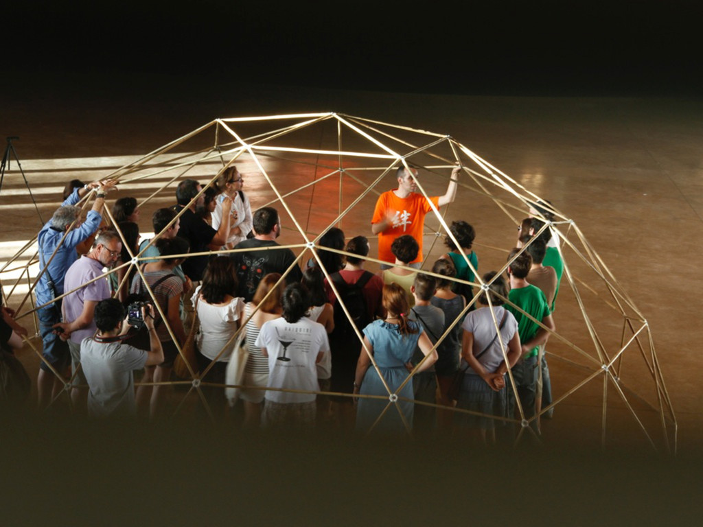 geodesic dome temporal sheltered spaces