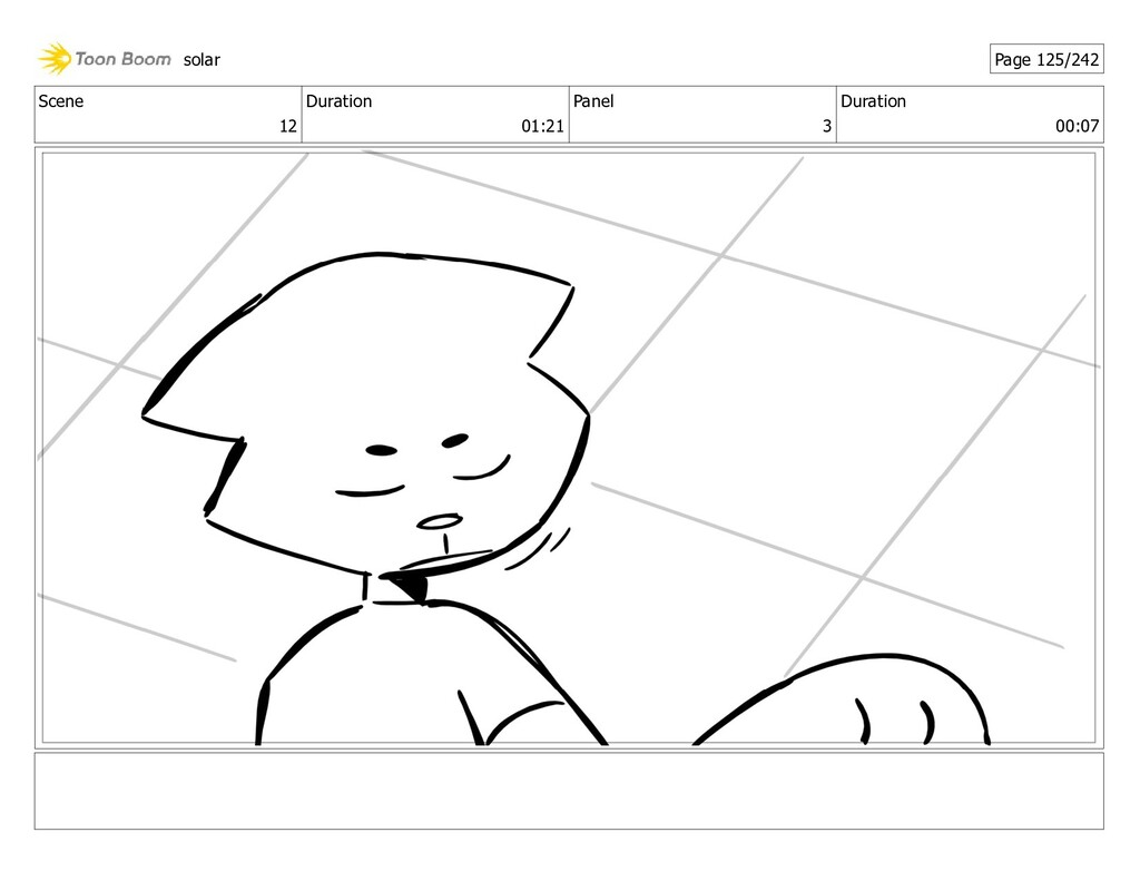 Scene 12 Duration 01:21 Panel 3 Duration 00:07 ...