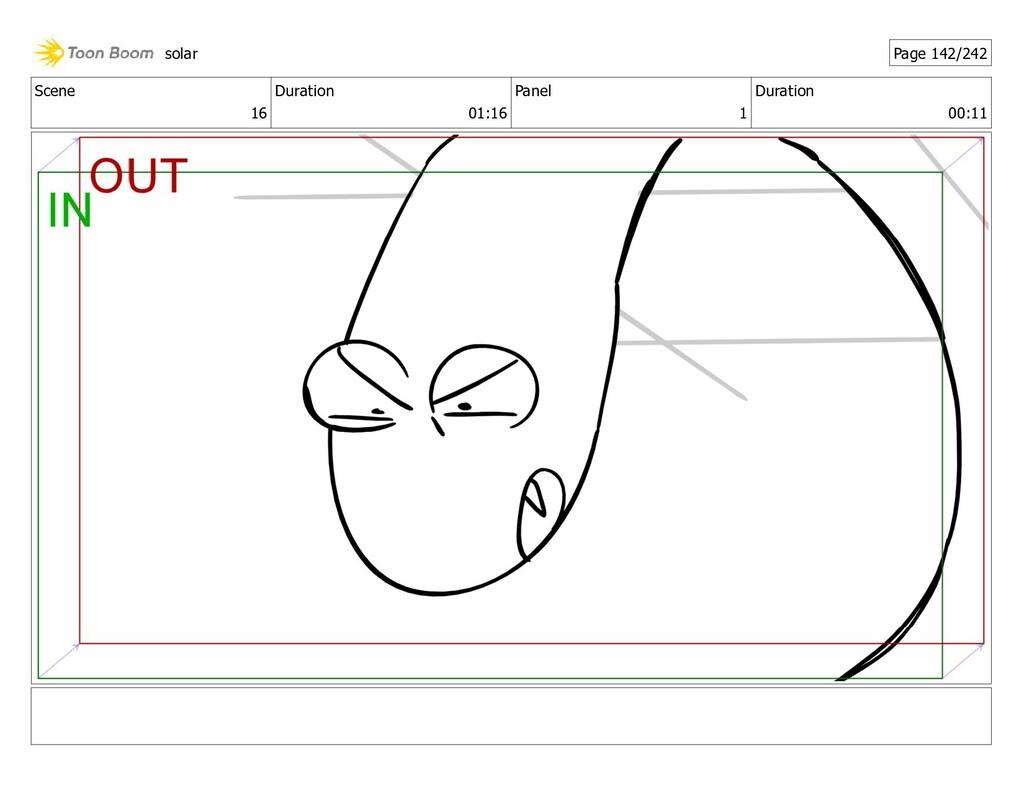 Scene 16 Duration 01:16 Panel 1 Duration 00:11 ...