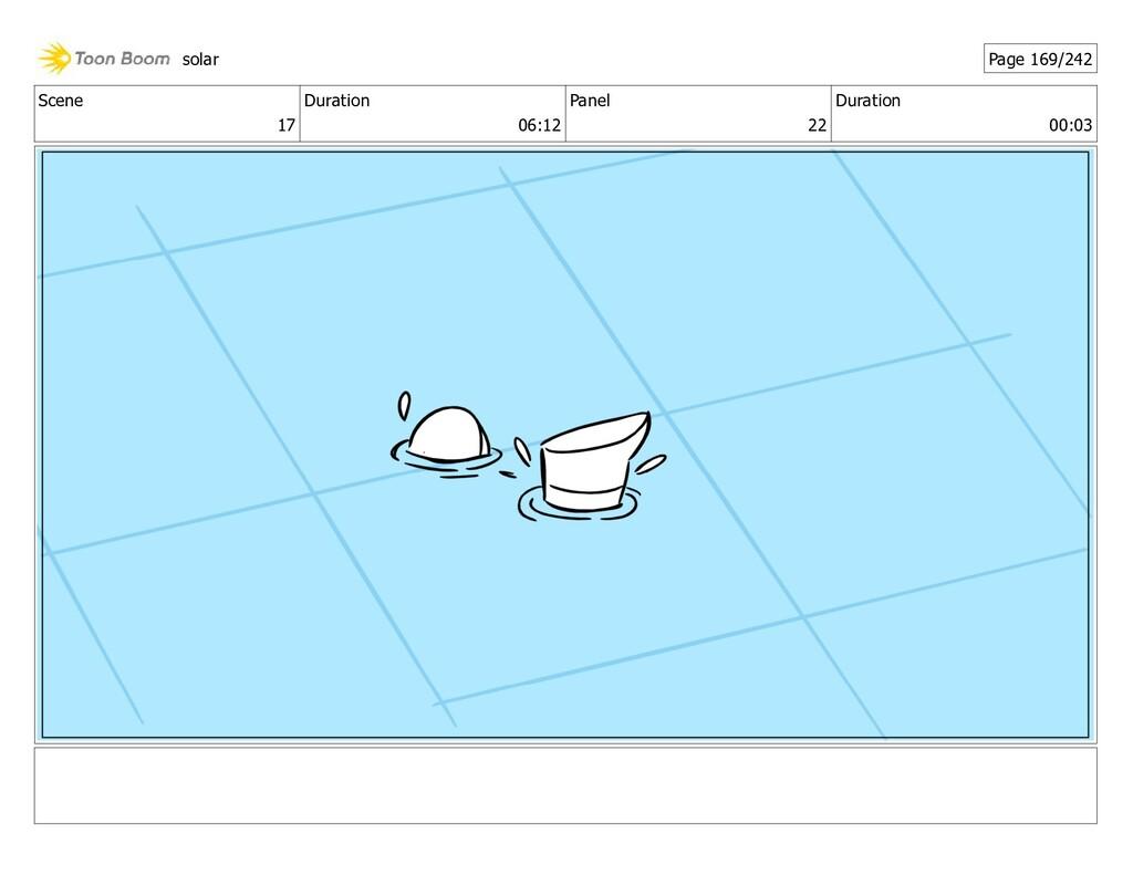 Scene 17 Duration 06:12 Panel 22 Duration 00:03...
