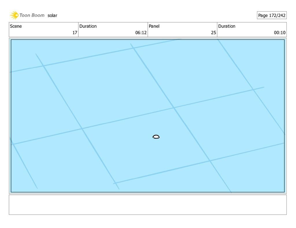 Scene 17 Duration 06:12 Panel 25 Duration 00:10...